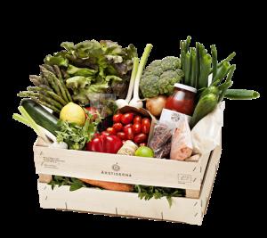 årstiderna vegansk matkasse