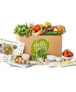 hellofresh vegetarisk matkasse